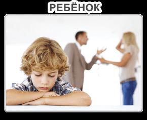 Определения места жительства ребенка и порядка общения с ним
